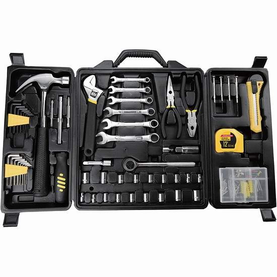 Fuller Tool 997-8160 家用工具160件套4.5折 28.98加元!