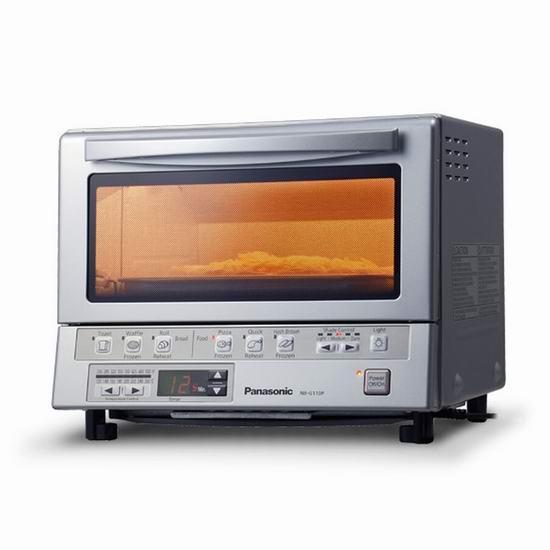 Panasonic 松下 NB-G110P Flash Xpress 极速预热 快速烹饪 电烤箱 129.99加元包邮!