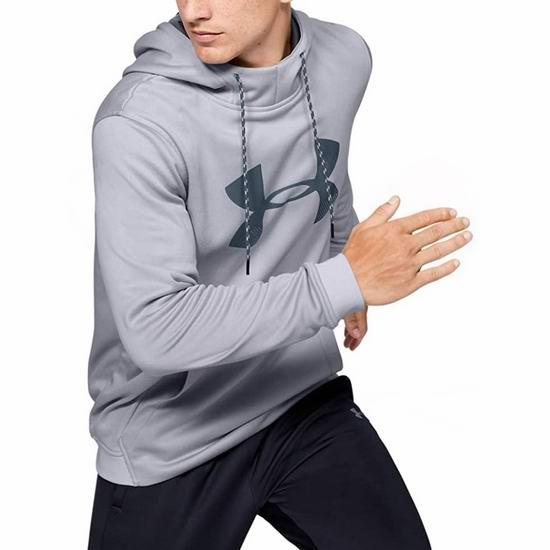 历史新低!Under Armour Fleece 男式连帽Logo卫衣4折 27.98加元!4色可选!