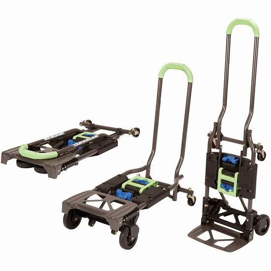 Cosco Shifter 可折叠多功能两用推车/拖车 75.99加元包邮!