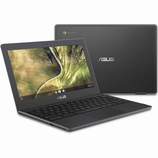 ASUS 华硕 C204EE-YS01-GR Chrome 11.6英寸笔记本电脑 229加元包邮!