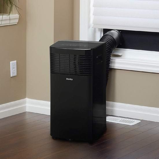 历史新低!Danby DPA060B7BDB 6000 BTU 三合一 空调/除湿/风扇 便携式空调5折 229.99加元包邮!