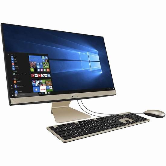 历史新低!ASUS 华硕 Vivo AiO 23.8英寸 触摸屏 一体式电脑(8GB/1TB) 674.99加元包邮!