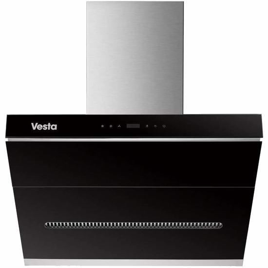 历史新低!Vesta Detroit 1000CFM 超强吸力 侧吸式抽油烟机 799.99加元包邮!