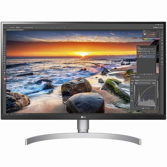 历史新低!LG 27UK850-W 27英寸 4K超高清 UHD IPS 显示器 518.84加元包邮!