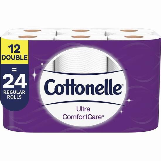 Cottonelle 12卷超软卫生纸 9.99加元