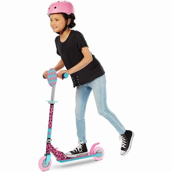 历史新低!L.O.L. Surprise 儿童可折叠滑板车 34.97加元!