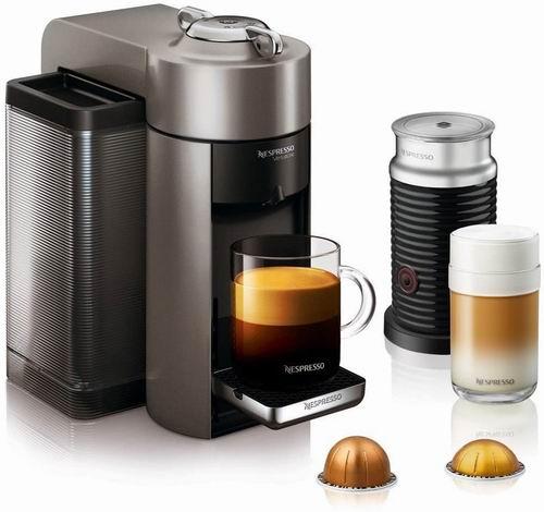 历史最低价!Nespresso Vertuo Evoluo 胶囊咖啡机+奶泡机套装5.3折 169加元包邮!