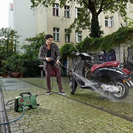历史新低!Bosch 博世 EasyAquatak 1700 PSI 家用高压清洗机6.9折 138加元包邮!
