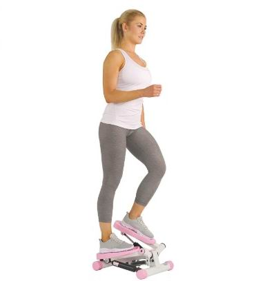 Sunny Health&Fitness P8000 粉色扭腰踏步机 提臀、瘦腿 76.48加元,原价 83.53加元,包邮