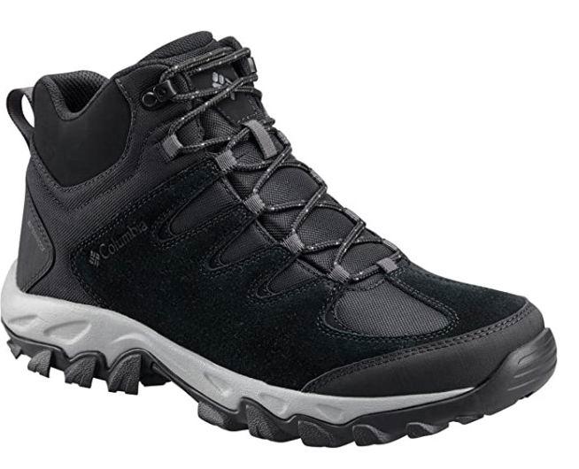 Columbia 哥伦比亚 Buxton Peak MID男士防水鞋 45.31加元(7.5码),原价 123.4加元,包邮