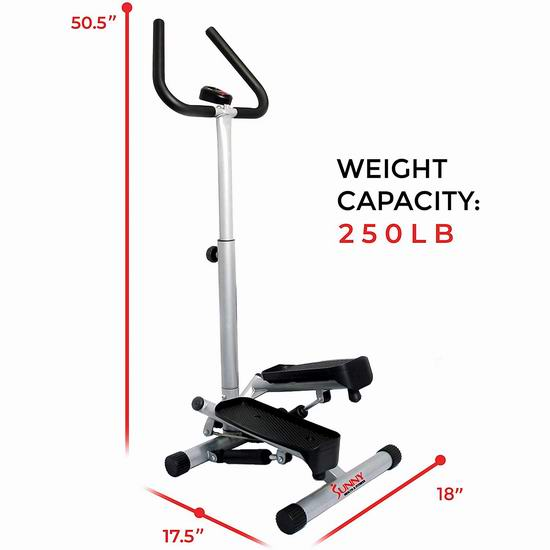 Sunny Twister Stepper 廋腿提臀 扭腰踏步机 103.97加元包邮!