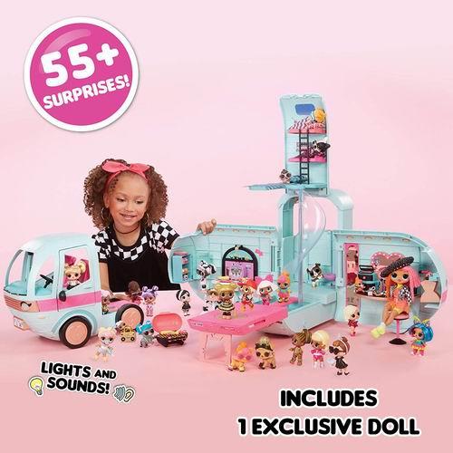 历史最低价!L.O.L. Surprise 2合1露营娃娃屋 7.2折 94.07加元,原价 129.99加元,包邮