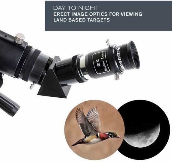 Celestron 星特朗 Travel Scope 70 DX 旅行者 天文望远镜 143.34加元包邮!支持手机观察、拍摄!