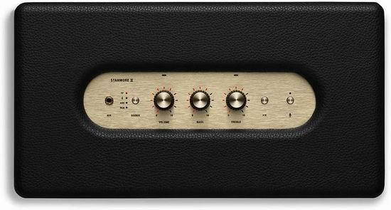 近史低价!Marshall Stanmore II 复古智能蓝牙音箱6.5折 357.38加元包邮!支持Amazon Alexa语音控制!