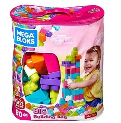 销量冠军!Mattel Mega 经典款大号积木80件套 18.94加元!