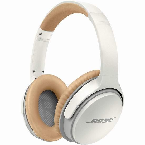 Bose 新一代 SoundLink II 耳罩式蓝牙无线耳机 199加元包邮!2色可选!