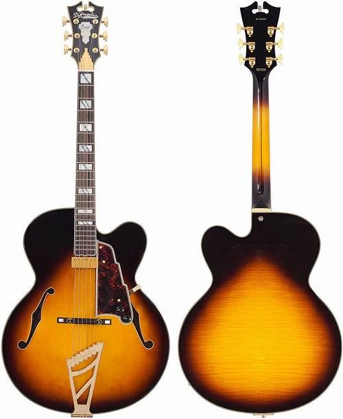史低价!D'Angelico DAEEXL1VSBGTE Excel EXL-1复古电吉他 901.35加元,原价 1980加元,包邮