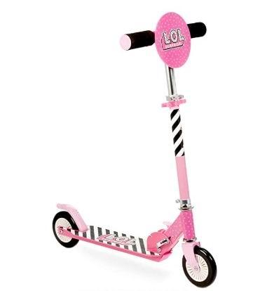 L.O.L. Surprise可折叠儿童滑板车 38.99加元+包邮!