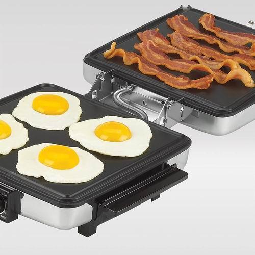 Black+Decker 3合1电热华夫饼器/烧烤机 6.6折 52.47加元,原价 79.99加元,包邮