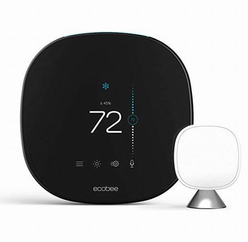"""被评为""""最佳智能恒温器""""!ecobee 带语音控制智能恒温器 269.99加元,原价 322.33加元,包邮"""