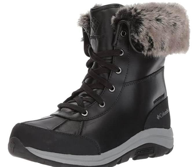 白菜价!Columbia BangorTM 女士雪地靴 43.33加元(6.5码),原价 162.42加元,包邮