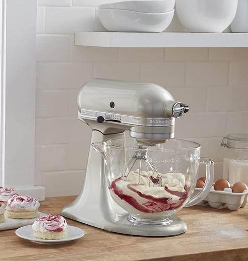 历史最低价!KitchenAid 厨宝 Artisan 名厨系列 KSM155GB 5夸脱多功能搅拌厨师机5折 329.99加元包邮!