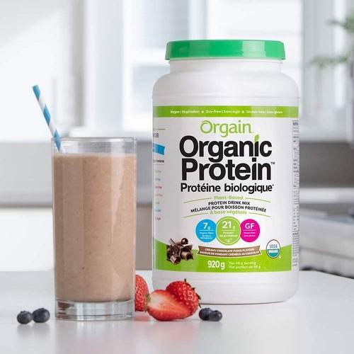 Orgain 有机植物蛋白粉(920g) 39.29加元包邮!