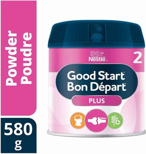 NESTLÉ GOOD START PLUS 2 DHA&ARA益生菌 婴儿配方奶粉 23.72加元,原价 28.97加元