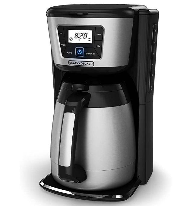 BLACK+DECKER CM2035B 12杯咖啡机 71.09加元,原价 87.49加元,包邮