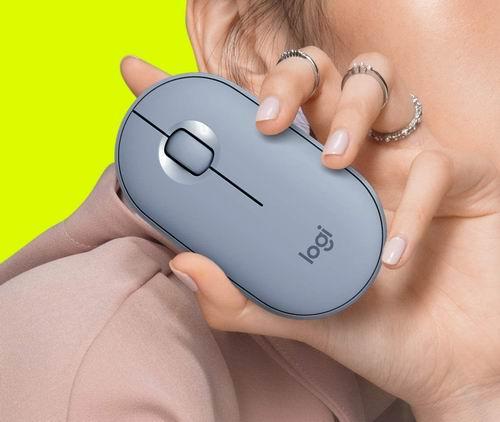Logitech Pebble M350无线鼠标 39.99加元+包邮,2色可选!