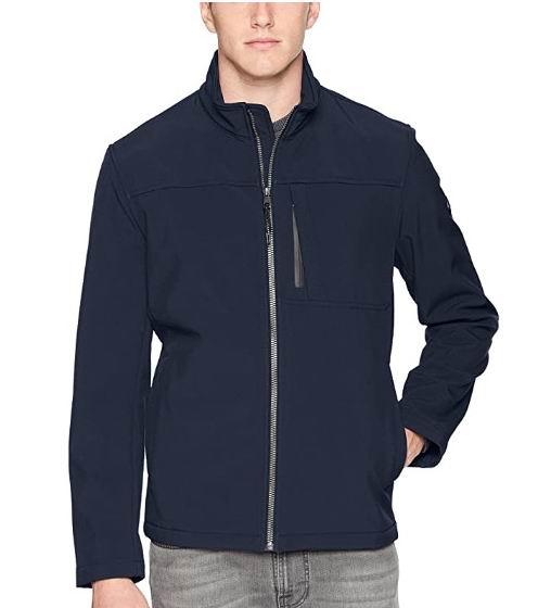 Calvin Klein 男士 Angle Placket夹克 45.28加元(S码),原价 80.99加元,包邮