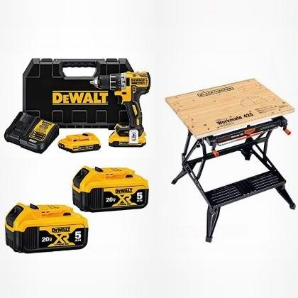 金盒头条:精选 DeWALT 得伟 电动工具、工具桌及配件6折起!仅限今日!