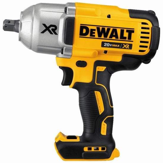 DEWALT 得伟 DCF899B 20V MAX XR超锂电 无刷超强力冲击扳手 224.99加元包邮!不含锂电池!