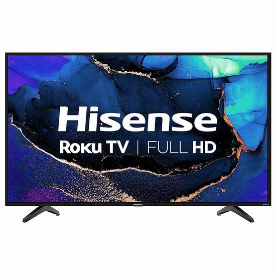 新品 Hisense 海信 40H4G 40英寸 全高清LED Roku 智能电视 239.99加元包邮!