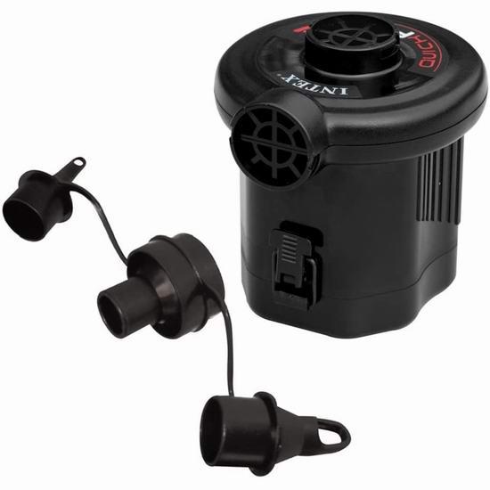 历史新低!Intex Quick-Fill Battery 电池驱动 多用途电动快速充气泵 8.77加元!