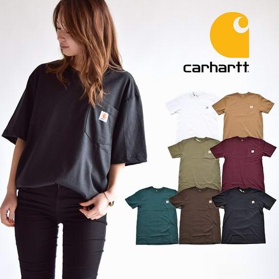 Carhartt K87 Workwear 男式纯棉 舒适好穿 有口袋 短袖T恤 17.99加元!12色可选!女生也可穿!