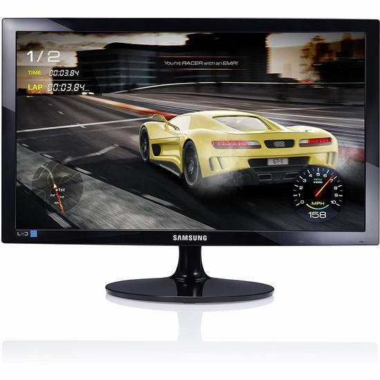 历史新低!Samsung 三星 LS24D330HSL/ZA 24英寸 无闪屏 护眼 HDR游戏显示器 118.99加元包邮!