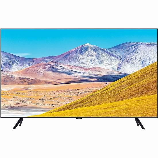 历史最低价!Samsung 三星 65英寸 TU8000 4K超高清智能电视 898加元包邮!