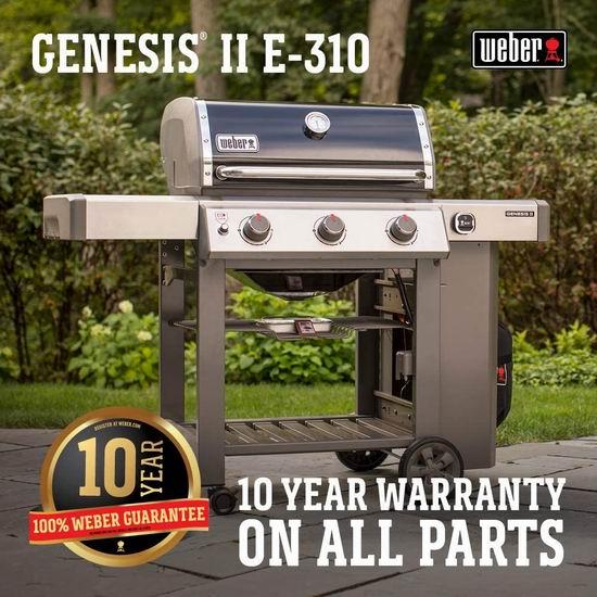 Weber GENESIS II E-310 天燃气 BBQ烧烤炉 838加元包邮!