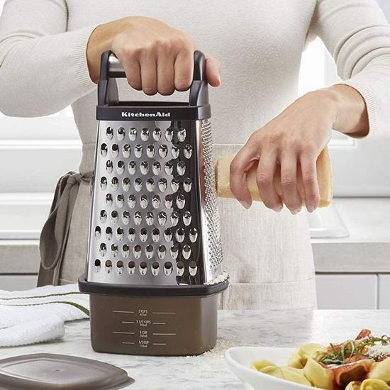 历史新低!KitchenAid Gourmet 四合一 蔬菜快速切丝切片器3.8折 9.99加元!