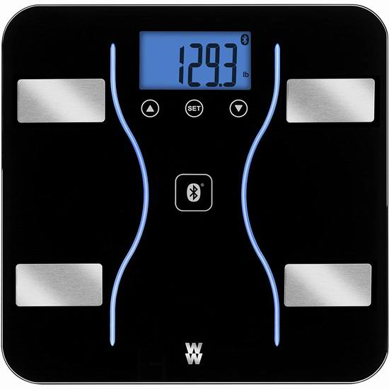历史最低价!WW Scales by Conair 智能蓝牙无线 体脂/体重秤5.2折 39加元包邮!