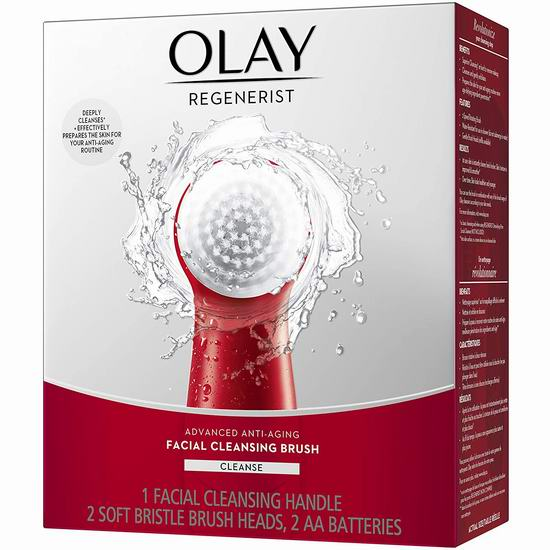 Olay Regenerist 去角质 电动洁面/洗脸刷5折 17.5加元!