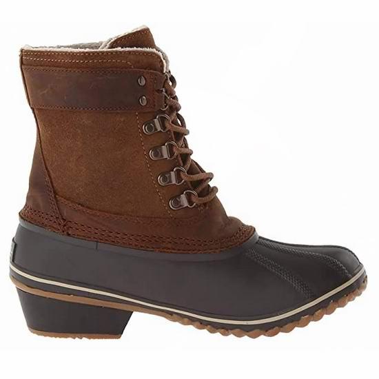 白菜速抢!Sorel 加拿大冰熊 Fancy Lace II 女式雪地靴(6.5码)3.1折 60.66加元包邮!
