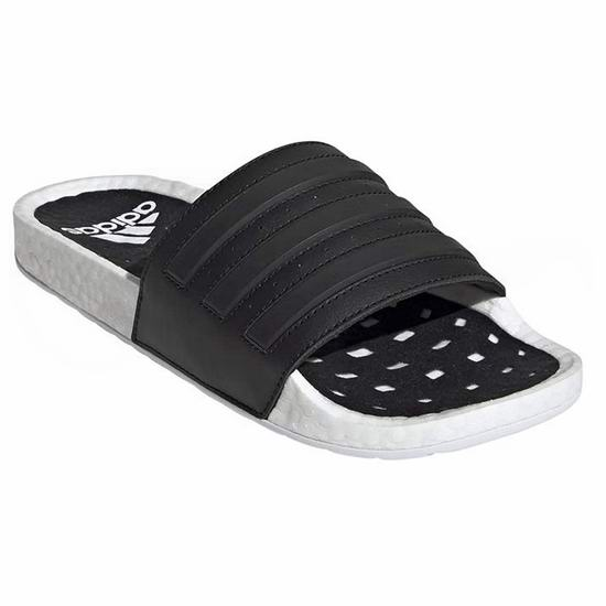 adidas Adilette Boost 运动凉拖鞋3.8折 30.48加元!