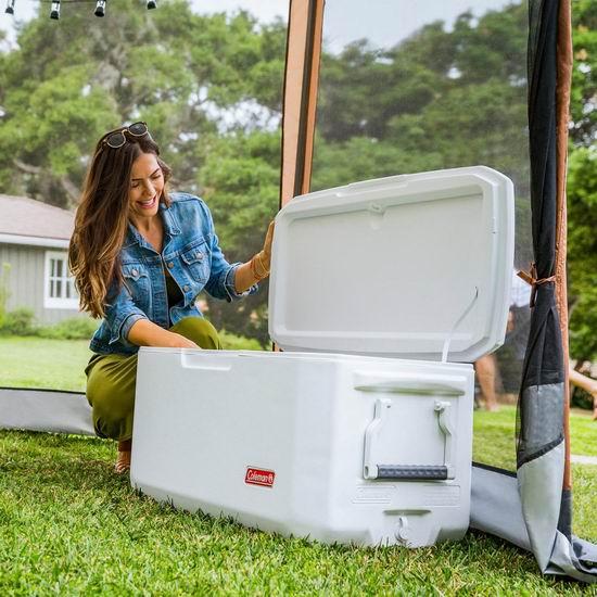 历史新低!Coleman Xtreme 120夸脱超大容量 6天超长效 冷藏保温箱5.5折 99.99加元包邮!比Walmart促销还便宜38加元!