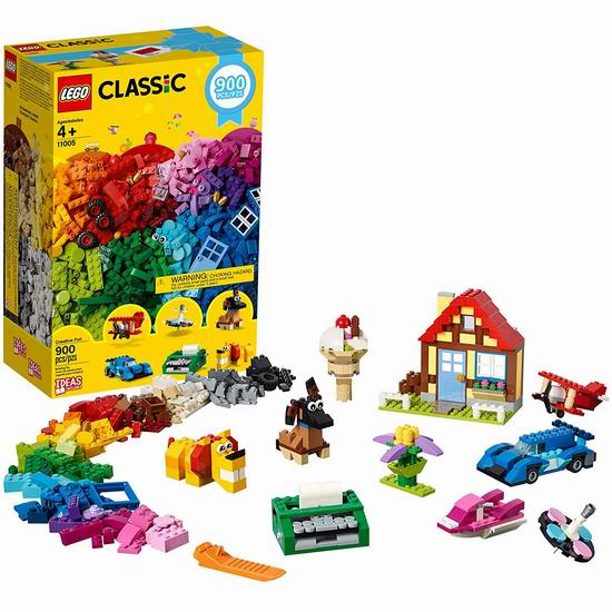 新品 LEGO 乐高 11005 创意拼搭趣味积木套装(900pcs) 49.99加元包邮!