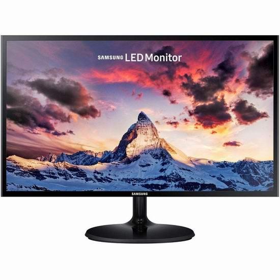 Samsung 三星 LS24F350FHNXZA 24英寸 1080P全高清 护眼显示器 139.99加元包邮!