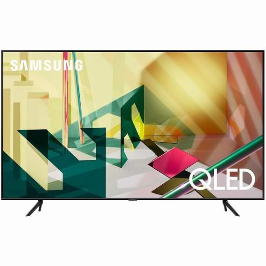 历史新低!Samsung 三星 Q70T 75英寸 4K超高清 QLED智能电视 2698加元包邮!支持中文语音控制!