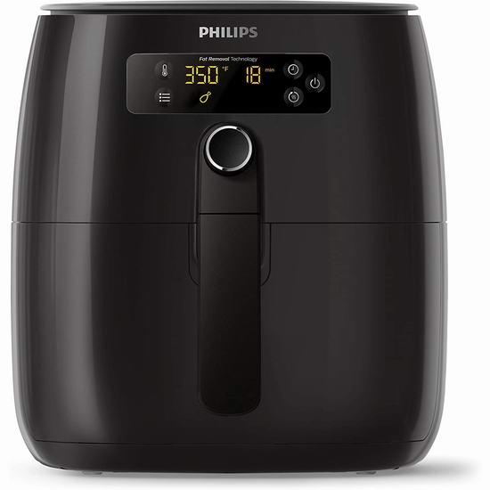 Philips 飞利浦 HD9721/99 Twin 数字式全自动空气炸锅 279.95加元包邮!